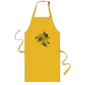 Good luck crane long apron