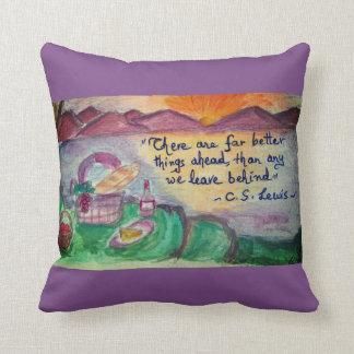 good luck! cushion