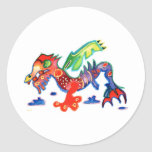Good Luck Dragon,  Drache Stickers