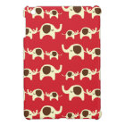 Good luck elephants cherry red cute nature pattern cover for the iPad mini