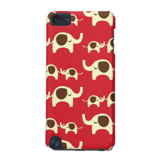 Good luck elephants cherry red cute nature pattern iPod touch (5th generation) case