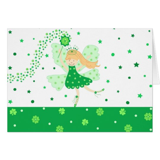 Good Luck fairy - Card