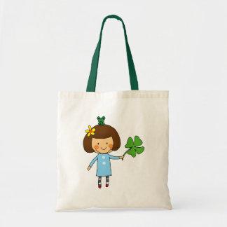 Good luck girl with a four leaf clover