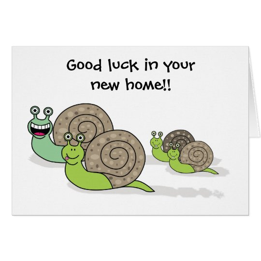 Good Luck in your New Home / House