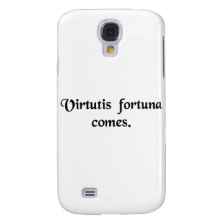 Good luck is the companion of courage galaxy s4 case