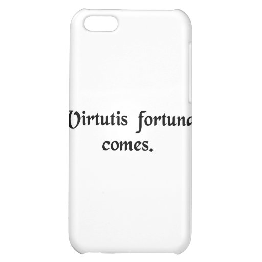 Good luck is the companion of courage. case for iPhone 5C