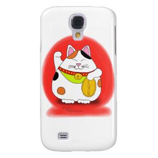 Good Luck Maneki Neko Galaxy S4 Cover