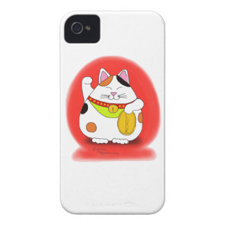 Good Luck Maneki Neko iPhone 4 Case-Mate Case