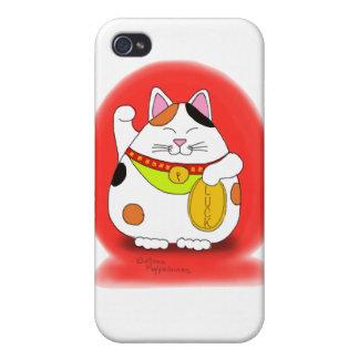 Good Luck Maneki Neko iPhone 4 Case