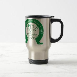 Good Luck Stainless Steel Travel Mug