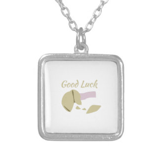 Good Luck Square Pendant Necklace