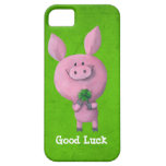 Good Luck Pig iPhone 5 Cases