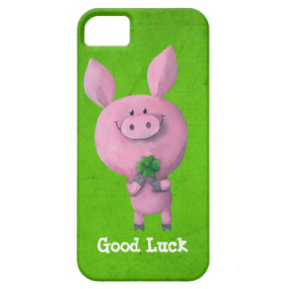 Good Luck Pig iPhone 5 Covers