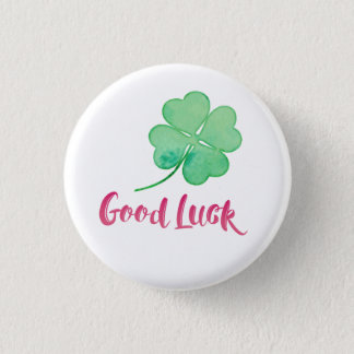 Good Luck Pin Button