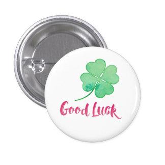 Good Luck Pin Button