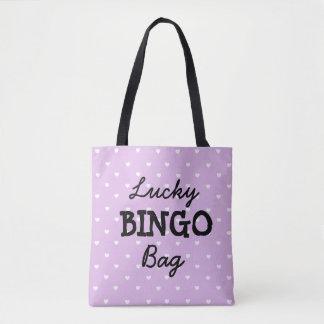 Good Luck PURPLE BINGO Bag