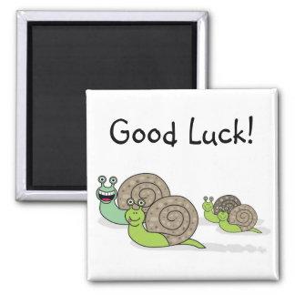 Good Luck Snail family! Magnet