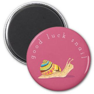 Good Luck Snail Magnet