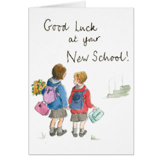 Good Luck - Starting School Greeting Card