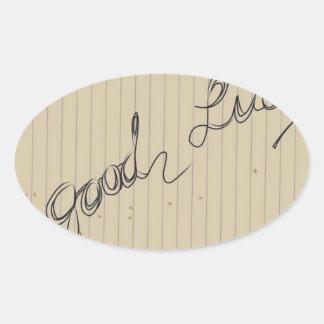 good luck sticker