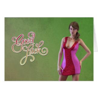 Good Luck Zoey Card