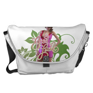 Good Luck Zoey Courier Bag