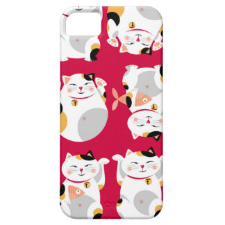 Good luckcat,chinese,feng shui,Maneki Neko,pattern iPhone 5 Cases