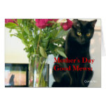 """""""Good Mews/Bad Mews Mother's Day"""" Card"""