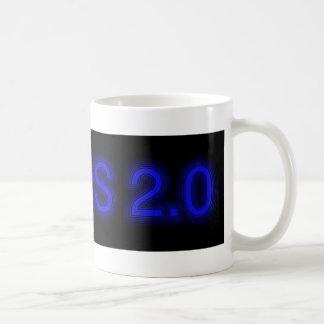 Good mood already for breakfast basic white mug