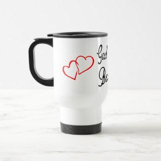 Good Morning Beautiful Red Heart Love Mug