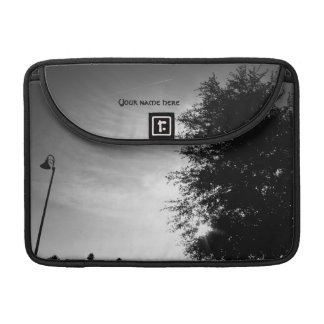 Good Morning - Black and White MacBook Pro Sleeve