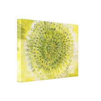 Good Morning Bright Flower Canvas Print