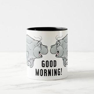 Good Morning Buddy Manatee Coffee Mug