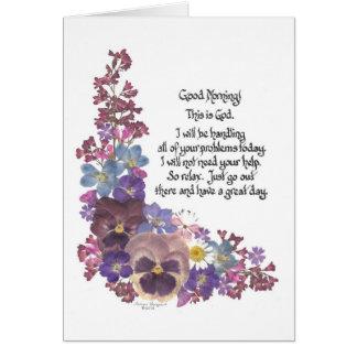 Good Morning! Card