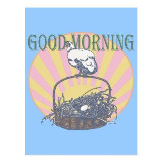 Good Morning Chicken Post Cards