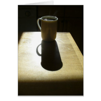 Good Morning Coffee 3 Note Card