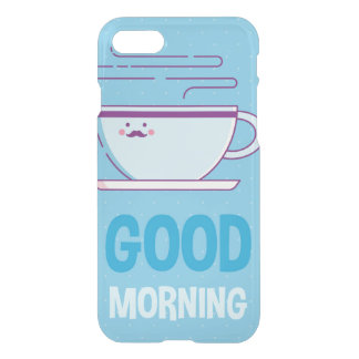 Good Morning Coffee Addicts iPhone 8/7 Case