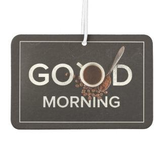 Good Morning Coffee air freshner