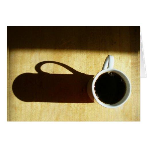 Good Morning! Coffee Greeting Cards