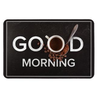 Good Morning Coffee magnet