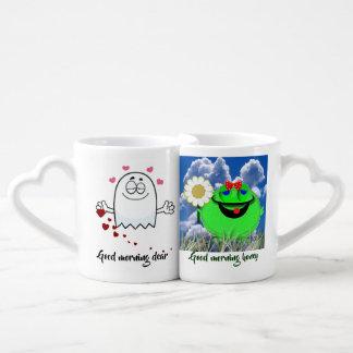 Good morning coffee mug set