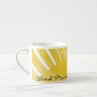 Good Morning Coffee Yellow Mug