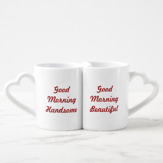 Good Morning Couples Mug Set Lovers Mug