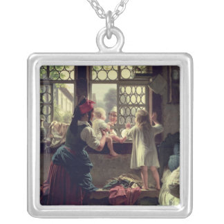 Good Morning, Dear Father Silver Plated Necklace