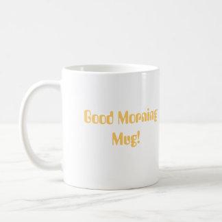 Good Morning Egret Sunrise Mug