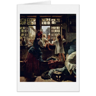 Good Morning,Father By Friedrich Eduard Meyer Card