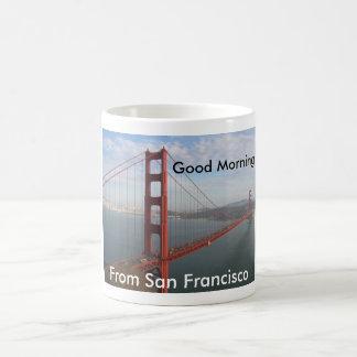 Good morning from San Francisco Basic White Mug