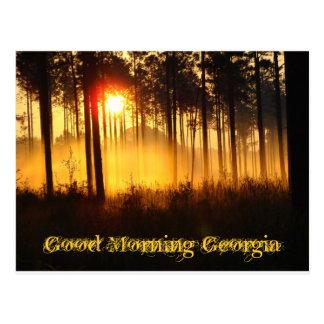 Good Morning Georgia Postcard