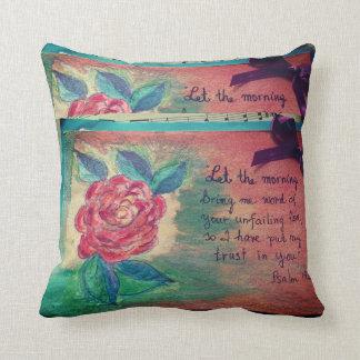 Good Morning God! Cushion