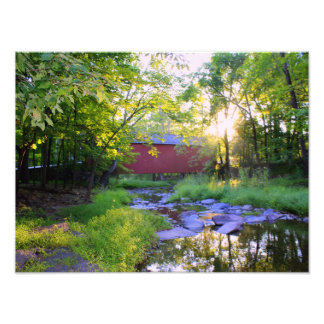 Good Morning in Pipersville Photo Print